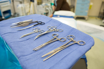 Surgical Tools In Operation Room