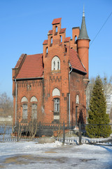Home of Baron Munchausen in Kaliningrad. Russia