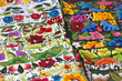 Colored fabrics, Mexico