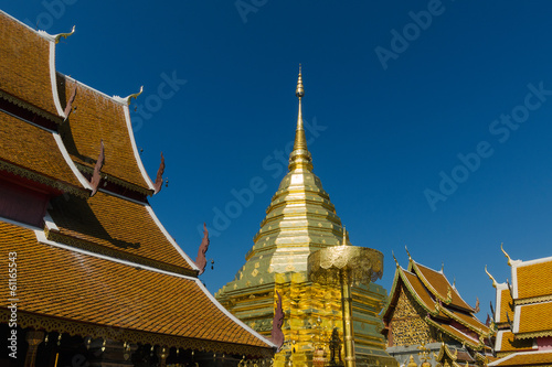 Thai Gold Stupa at North Temple