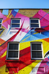 Colourful Urban Building, London