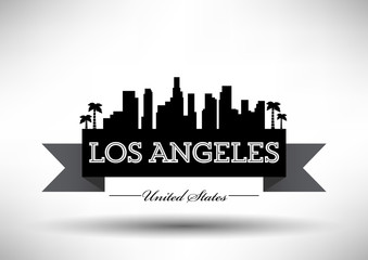 Modern Los Angeles Skyline Design