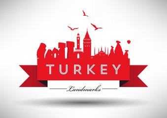 Landmarks of Turkey Design.