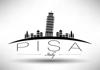 Modern Pisa Skyline Design