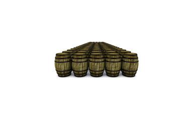 barili di legno infiniti