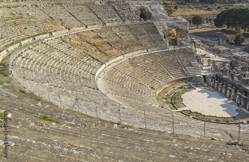 Amphitheater (Coliseum) in Ephesus (Efes) Turkey