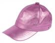 pink peaked cap