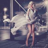 Fototapety Marilyn Monroe 04 / Vintage