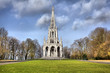 Постер, плакат: The monument Leopold I in the neo Gothic style in Laeken park