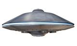 3d illustration of a flying saucer