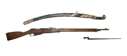 Infantry rifle and saber model 1891