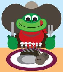 Cowboy Frog