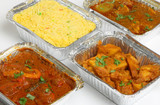 Indian Takeaway Food Selection
