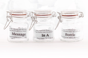 Message in three jars