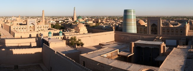 Panoramic view of Khiva - Uzbekistan