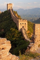 Evening Great Wall - China