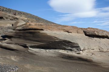 Islanda formazione di roccia vulcanica