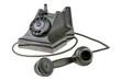 Retro dial-up rotary telephone