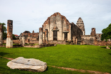 Wat Phra Si Ratana Mahathat temple in Lopburi, Thailand