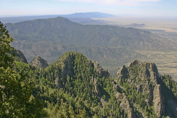 New Mexico Sandia Mountains View