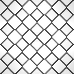 White and black mosaic