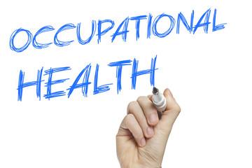 Hand writing occupational health