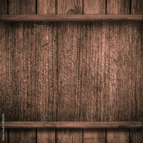 Wood wall and plank background