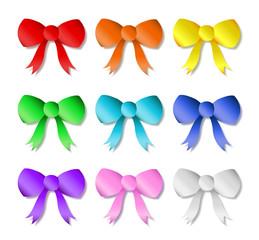 Rainbow Ribbon Set