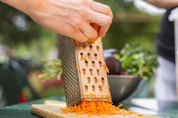 Organic Grated Carrot