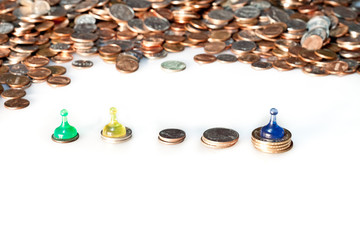 Coins and Pawns
