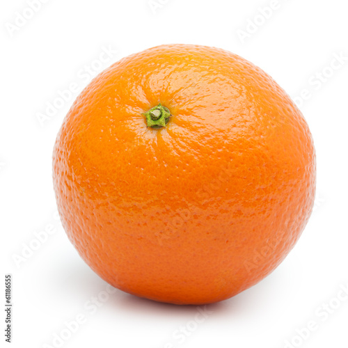 Orange fruit, tangerine,citrus isolated on white background.
