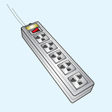plug sockets vector