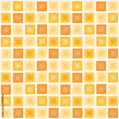 Vector illustration of seamless pattern with squares