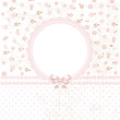 Baby pink flower background