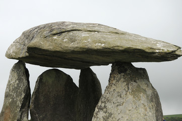 Pentre Ifan burial chamber in Preseli Hills, South Wales