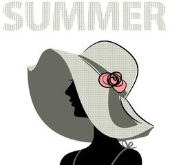 girl in the hat