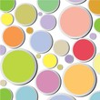 colorful circle spot background