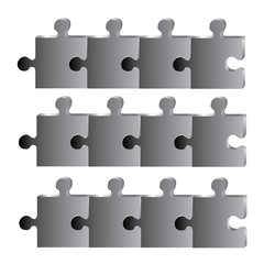 black puzzle diagram