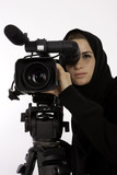 A Young Female Arab Cinematographer