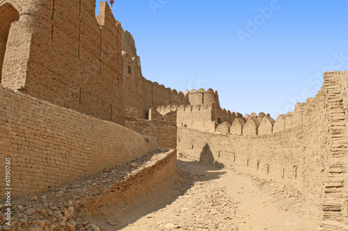 Ancient Ruins - Diji Kot fort