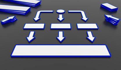 Visualisierung business hierarchie