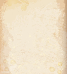 Vector background old vintage paper