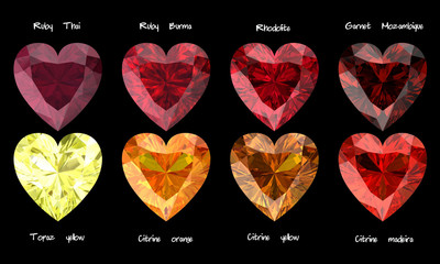 Gemstone Heart3