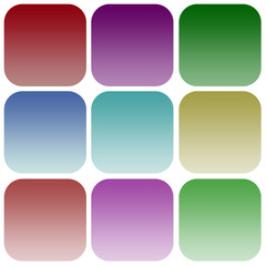 Apps color smoth icon set