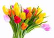 Leinwanddruck Bild - Blumen zum Valentinstag