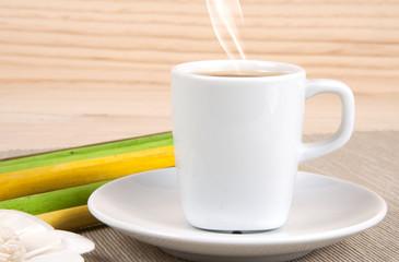Café con leche frontal