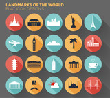 Landmarks of the World Design.