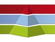 Pyramide Logo-Hintergrund