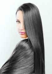 Beautiful Woman with Long Hair , beauty woman model