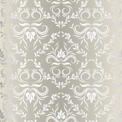 seamless wallpaper.damask pattern.floral background